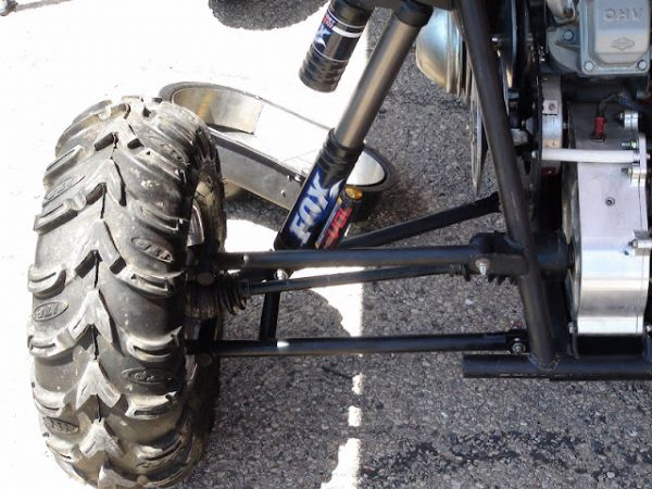 Rear Double A Arm Suspension